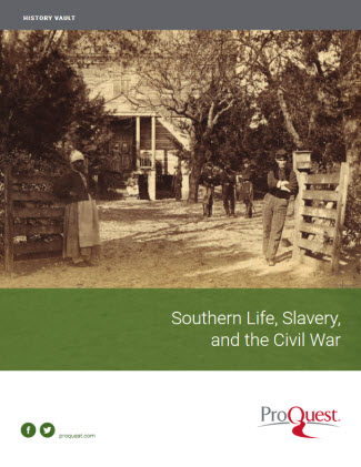 Southern Life, Slavery and the Civil War