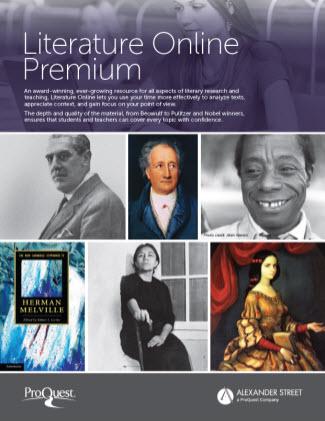 Literature Online Premium