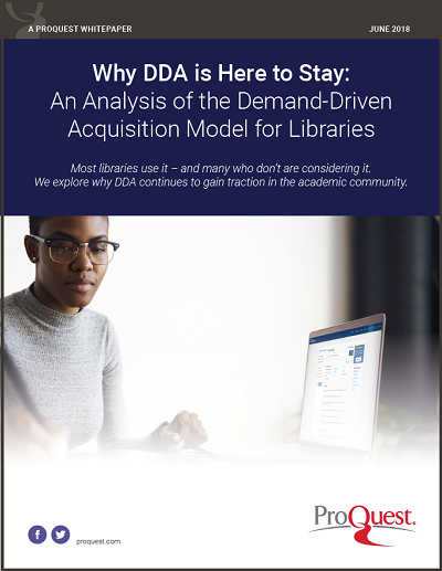 Whitepaper: Why DDA is Here to Stay