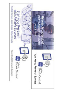 Ebook Central user bookmarks