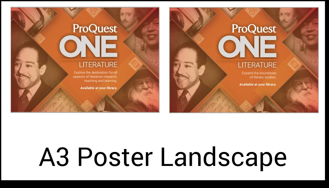 A3 Poster Landscape