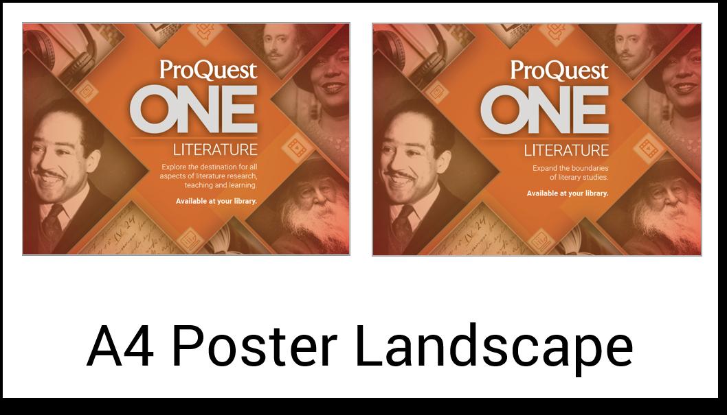 A4 poster landscape