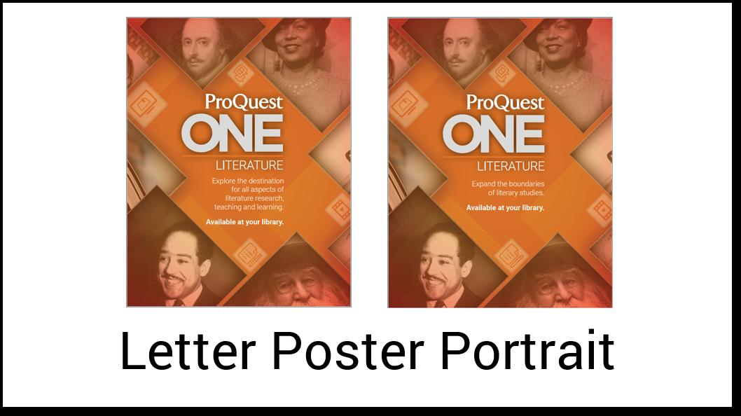 Poster Letter Portrait