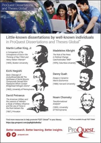 Famous Dissertations