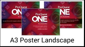 A3 posters landscape