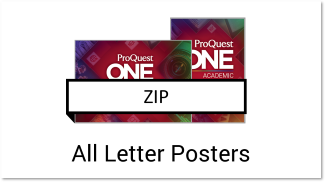 All Letter posters