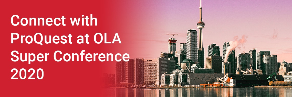 Join ProQuest at OLA 2019