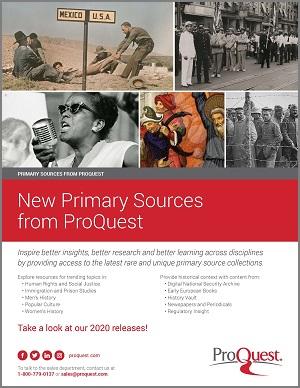 2020 Primary Sources Brochure - JUNE