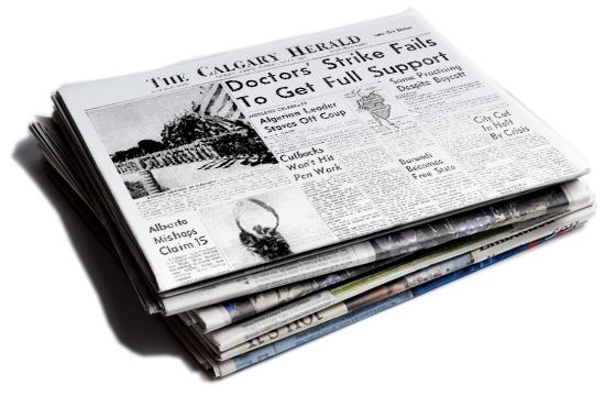 Alberta Newspaper