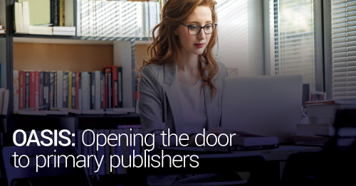 Day 3 - OASIS: Opening The Door to Primary Publishers