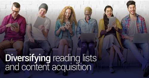 Day 1 Diversifying reading lists and content acquisition